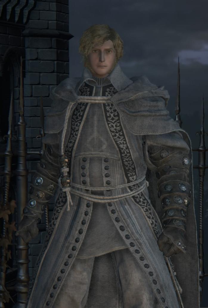 Alfred Hunter Of Vilebloods Bloodborne