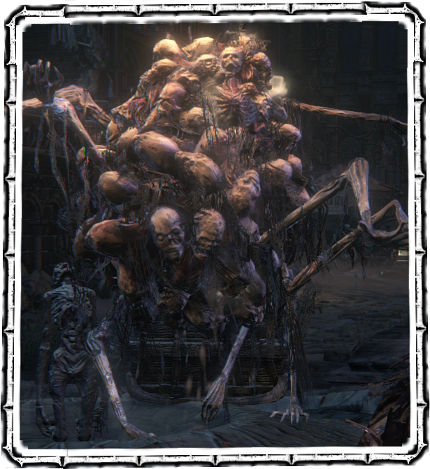 What remains of the kidnapped Yharnamites, this casket is driven only ...: bloodborne.wikidot.com/cramped-casket